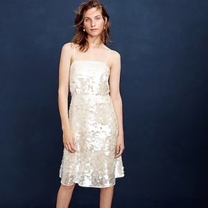 J.CREW LANEY DRESS SEQUIN WEDDING SPECIAL OCCASION